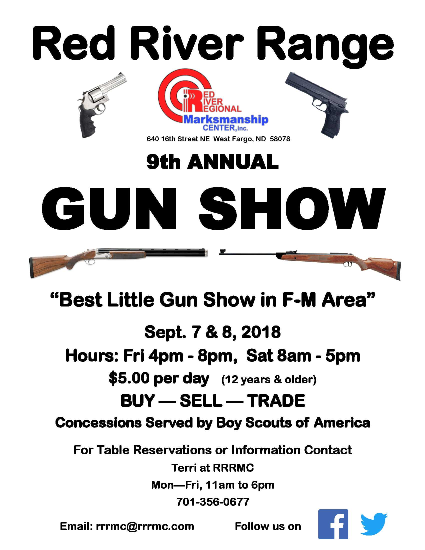 RRRMC 9th Annual Gun Show